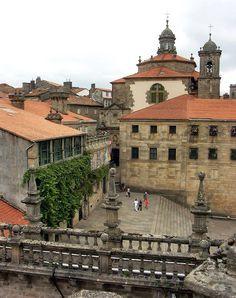 Spain Travel Inspiration - Santiago de Compostela, Galicia. Spain