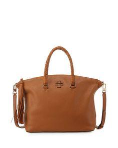 ae5e7c9226fcd Tory Burch Taylor Leather Satchel Bag