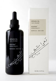 100% Organic Argan Oil - THE Argan Beauty Brand to Know: Kahina Giving Beauty…