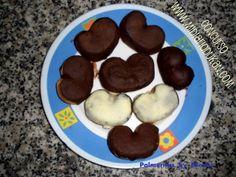 Mi Diario Dukan - Palmeritas de chocolate by Nieves * Repostería Dukan *