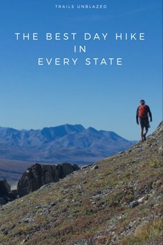 The best day hike in every state hikinggear Hiking Tips, Camping And Hiking, Camping Gear, Hiking Spots, Backpacking Meals, Camping Hammock, Ultralight Backpacking, Winter Camping, Hiking Gear