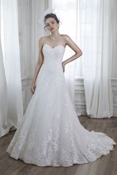 Wedding gown by Maggie Sottero