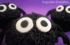 Cupcake Creativo: Cupcakes de Araña (Halloween)