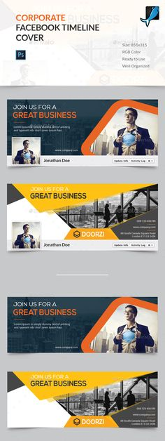 Corporate Facebook Timeline Cover Template PSD. Download here: http://graphicriver.net/item/corporate-facebook-timeline-cover/16526917?ref=ksioks