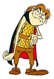 Asterix - The A to Z of Asterix - Characters - Codfix