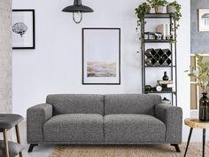 OXFORD Canapé fixe 3 places Tissu gris clair pas cher - Canapé Cdiscount-Soldes Cdiscount-Top Soldes Cdiscount - Ventes-pas-cher.com -     😍Découvrir ici -  #Sofa #Canapégrisclair #Canapéfixe #Canapépascher #Cdiscount #canapé3places Rose Pastel, Style Retro, Mon Cheri, Love Seat, Oxford, Couch, Furniture, Home Decor, Pink Fabric