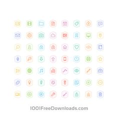 Free Vectors: Bertie Icons - Full