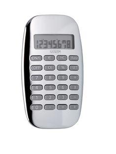 Lexon Galaxy Calculator in Aluminum - LC64-C
