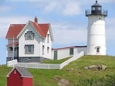 Cape Neddick Lighthouse in Maine....so beautiful!!  :)