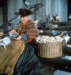 Mary Poppins - feed the birds, tuppence a bag