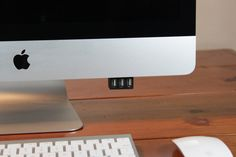 USaBle: USB made easy for iMac© by Keith Weaver — Kickstarter.  USaBle is a simple product that makes accessing USB ports on your iMac© easy, while keeping your desktop clear of cables.