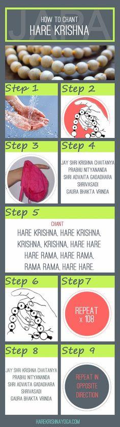 How to Chant Hare Krishna & be Happy | Hare Krishna Yoga | The bite sized bhakti blog