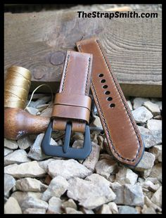 Haven't tried pull-up leather? It changes to a lighter brown as it's wrapped around your wrist!  TheStrapSmith.com