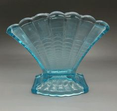Art Glass British Davidson ? A Vintage Art Deco Satin Glass Bowl