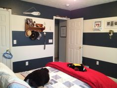 Last one. Nautical themed bedroom.