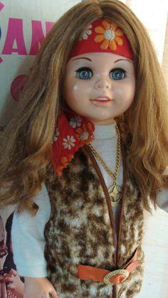 Boneca Antiga Candy Hippie Estrela 70s Na Caixa Funcionando - R$ 720,00 no MercadoLivre
