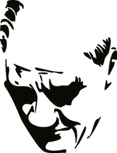 Silhouette Tattoos, Silhouette Art, Acrylic Portrait Painting, Easy Drawings, Pop Art, Stencils, Graffiti, Graphic Design, Silhouettes