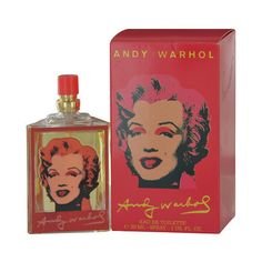 Andy Warhol Marilyn Red By Andy Warhol Edt Spray (23 BRL) ❤ liked on Polyvore featuring beauty products, fragrance, andy warhol perfume and andy warhol