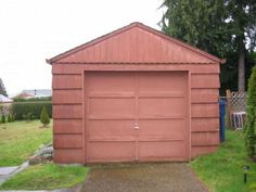 BEFORE: This Tiny House Used to Be a Shabby One-Car Garage  - CountryLiving.com