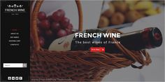 French Wine is a wonderful #PSD Template based online #store to sell #wine, food or #grocery website download now➩ https://themeforest.net/item/french-wine-psd-store-template/18824772?ref=Datasata