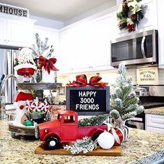 ▫️ 🚘🌲𝐈'𝐦 𝐡𝐚𝐩𝐩𝐲 𝐭𝐨 𝐫𝐞𝐚𝐜𝐡 ......𝟑𝟎𝟎𝟎+ 𝐈𝐆 𝐅𝐫𝐢𝐞𝐧𝐝𝐬🎉....... 𝐓𝐇𝐀𝐍𝐊 𝐘𝐎𝐔 𝐒𝐎 𝐌𝐔𝐂𝐇 𝐟𝐨𝐫 𝐭𝐡𝐞 𝐋𝐎𝐕𝐄, 𝐥𝐢𝐤𝐞𝐬, 𝐬𝐰𝐞𝐞𝐭 𝐜𝐨𝐦𝐦𝐞𝐧𝐭𝐬, 𝐦𝐞𝐬𝐬𝐚𝐠𝐞𝐬 & 𝐟𝐨𝐥𝐥𝐨𝐰𝐬😘 ▫️ ❤️𝐒𝐞𝐧𝐝𝐢𝐧𝐠 𝐕𝐢𝐫𝐭𝐮𝐚𝐥 𝐇𝐮𝐠 🤗 ▫️ ▫️ ▫️ #happy3000 #christmasdecor #redtruckchristmas #holidaydecor #farmhousekitchen #christmasplaid #homegoods #hobbylobby #rexcrown #seasonaldecor #hohoholidaydecor #farmhousechristmas #hohohomedecor #deckthehalls #hollyjollychristma Christmas Red Truck, Plaid Christmas, Xmas, Seasonal Decor, Holiday Decor, Virtual Hug, Instagram Christmas, Christmas Decorations, Christmas Ornaments
