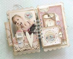 7 {This Tastes Yummy!} mini album *Melissa Frances*  KAROLA Witczak