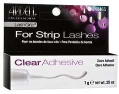 Ardell Lashgrip Adhesive Strip Lashes False Clear 7G ** Find out more about the great beauty product at the image link.