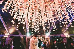 romantic   vintage   Bohemian   wonderland   first dance   floral arrangement   pink   wedding dance   love  