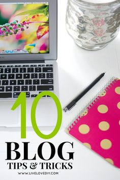 One of the topics I get asked the most about is blogging. So, today I thought I would share 10 of the tips that have helped me grow this blog over the past 3 years. I started this blog in January 2012, having absolutely no idea what I was doing (imagine...
