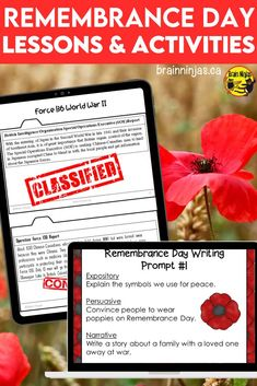 Take your students beyond painting a poppy by learning about Canadians and the impact of war on their lives with these lessons and activities designed for the upper elementary classroom. They are perfect for Remembrance Day, but you can incorporate them into your social studies lessons any time of year. Come check them out and get your planning done quickly so you can focus on what's important.. Beyond Paint, Remembrance Day, Upper Elementary, Social Studies, Poppy, You Got This, Students, Classroom, Teacher