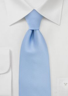 Textured Tie in Morning Sky Blue