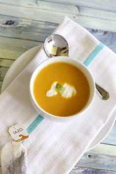 chai spice butternut squash soup recipe SuperGlueMom