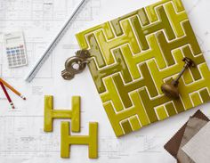 As my name starts with an 'H' I think this tile would be just perfect for an installation in my home.