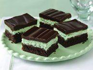 Chocolate-Mint Cookie Bites Recipe from Betty Crocker