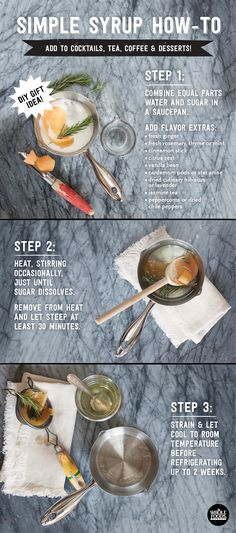 Simple Syrup How-To