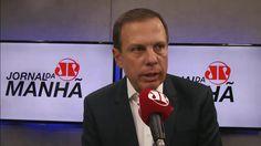 """""""O apelo não foi feito ainda"""", diz Doria sobre eventual candidatura em 2..."""