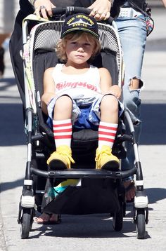Kingston Rossdale Photo - Gwen Stefani And Family Visit The Intrepid Sea, Air & Space Museum