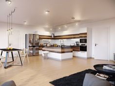 Image issue du site Web http://www.decosee.com/picture/special-design-shiny-walnut-pure-white-kitchen-cabinets-front.jpg
