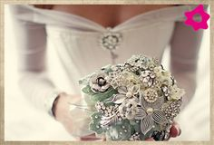 Bouquet de Noiva Vintage Heirloom