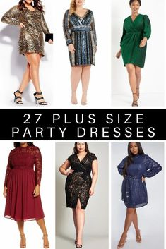 27 Plus Size Party Dresses {with Sleeves} for Holiday Parties or Wedding Guest Dresses - Alexa Webb #plussize #alexawebb Party Dresses With Sleeves, Plus Size Party Dresses, Wardrobe Makeover, Sequin Party Dress, Plus Size Shopping, Holiday Outfits, Holiday Parties, Strapless Dress, Fancy