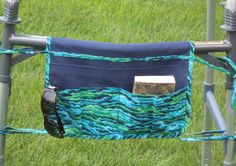 fold over walker pouch by ThePouchBoutique on Etsy, $22.00