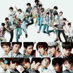 SuJu <3 ~ As 13 ~ Leeteuk, Heechul, Hangeng, Yesung, Kangin, Shindong, Sungmin, Eunhyuk, Donghae, Siwon, Ryeowook, Kibum, Kyuhyun. <3
