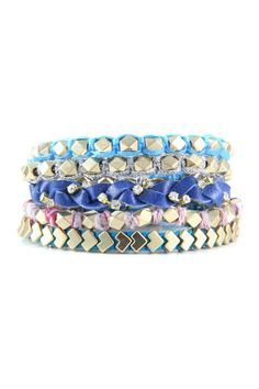 Friendship Bracelet Set on HauteLook
