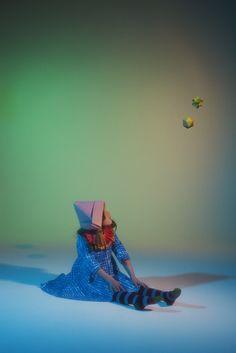 Julie Vianey styling for Papier Mache magazine winter 2012