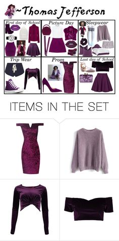 """Thomas Jefferson Gender-bend modern"" by nanixmc ❤ liked on Polyvore featuring art and modern"