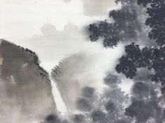 "Suzuki Shonen | ""Shonen's often dramatic paintings earned for him the sobriquet ""present-day Shohaku"", after the wildly eccentric artist Soga Shohaku."" (Berry in: Modern Masters of Kyoto, p. 196) Modern Masters, Present Day, Eccentric, Kyoto, Berry, Paintings, Landscape, Abstract, Artist"