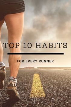 Running is not just running. There are many habits you should consider. Here are my Top 10: Running On Treadmill, Running Workouts, Running Tips, Running Training, Trail Running, Race Training, Triathlon Training, Running Women, Running For Beginners