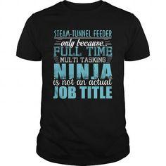 STEAM-TUNNEL FEEDER Ninja T-shirt