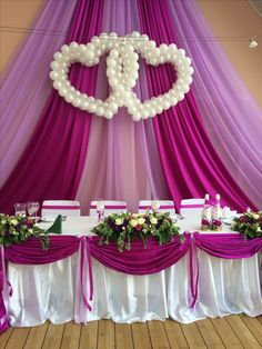 Wedding Decorations With Balloons Reception - pearl balloon decorations Stage Decorations, Indian Wedding Decorations, Balloon Decorations, Wedding Centerpieces, Balloon Ideas, Wedding Chairs, Wedding Table, Diy Wedding, Wedding Ceremony