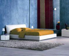 NATHALIE Doppelbett by Flou Design Vico Magistretti | Bett ...